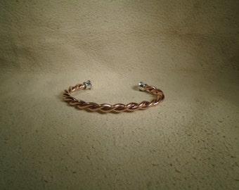 Twisted Copper Bracelet