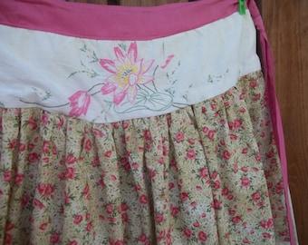 Pink Roses Apron