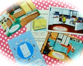 Vintage Kitchen Kitsch Appliance Advertisement  Kitchen Trade Cards Great for Recipe or Baking altered Books