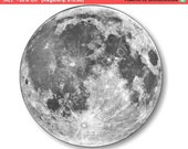 Moon from Space Mousepad