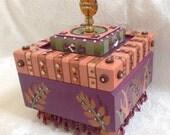 Laurel Custom Painted Box