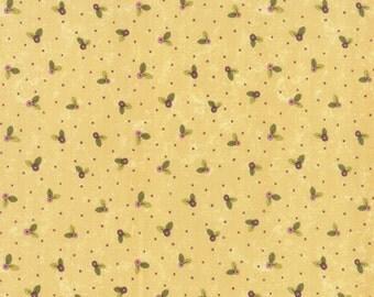 Cream Small Flower Prints Charming Fabric - Moda - Sandy Gervais - 17845 16