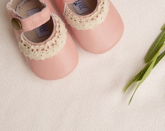 Lucy Baby Girl Shoes in Pink