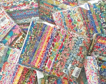 SALE Liberty Tana Lawn Fabric 48 Sample Pieces 50% 0FF