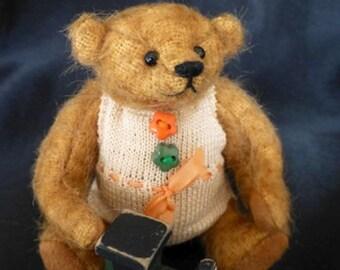 BOBBY a miniature bear.