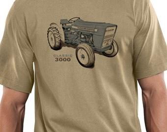Classic Tractors Ford 3000 Design T-shirt