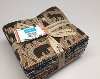 FALL SALE - Fat Quarter Bundle (18) - High Adventure - FQ-5510-18 - High Adventure - Dani Mogstad - Riley Blake Designs