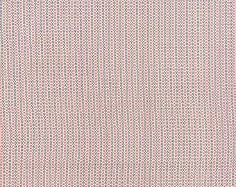 SUMMER SALE - Varsity - 1 yard - Time Out in Vanilla (5596 11) - Sweetwater for Moda Fabric