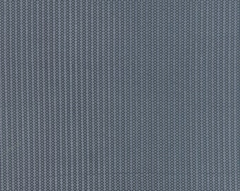 SUMMER SALE - Varsity - 1 yard - Time Out in Navy (5596 13) - Sweetwater for Moda Fabric