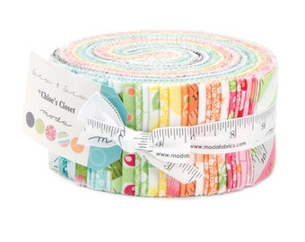 BLACK FRIDAY SALE - Jelly Roll - Sew and Sew - by Chloe's Closet for Moda Fabric