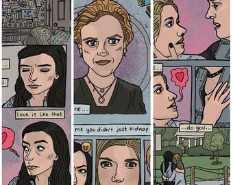 Carmilla 'Season 3' Set - 3 A4 Art Prints!