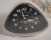 Atomic Style Alarm Clock Wards Midcentury Clock