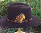 Vintage Biltmore Smokey River Brown hat