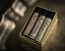 Natural Perfume Oil Samples - Mini Mix-and-Match Set of 3 - For Strange Women perfume