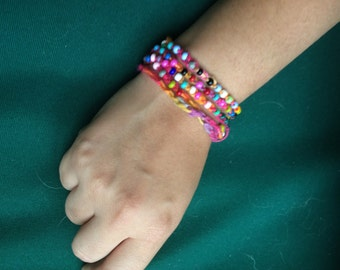 Colorful Crochet Necklace/Bracelet