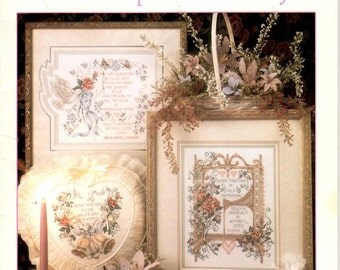 Cross Stitch Pattern Leaflet - Our Special Day - Wedding Pattern - Marriage Sayings - Stoney Creek Collection - Book 95