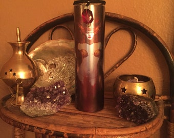 Hekate 7 Day Candle~Red, Witchcraft, Hecate, Goddess, Pagan, Witch