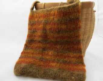 Felted crochet purse, felted crochet tote, felted crochet bag, felted tote, felted purse, felted bag