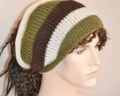 ON Sale Knitted Tube Hat Dreads Sock Long Hair Neckwarmer