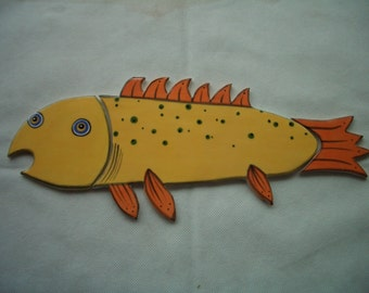 EGON - XL Gorgeous FISH - Ceramic Tile Set