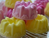 Mini Bundt Cake Soap - Party Favor Soap - Stocking Stuffer - Bakery Soap