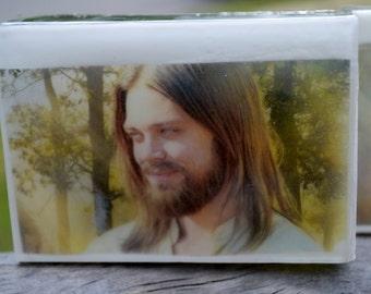 Walking Dead Graphic Art Soap Bar - Jesus - Novelty Soap - AN AJSWEETSOAP EXCLUSIVE