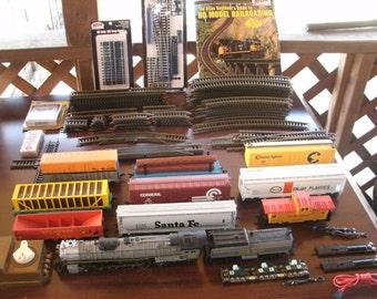 Vintage Bachmann 4-8-4 Steam Locomotive Set