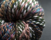 Elegant Fall, BulkyYarn, HandSpun Yarn, 100yards