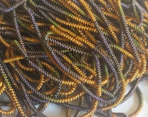 Multi Color - French Coil Wire Bullion thread (100 inches) for jewelry or embroidery