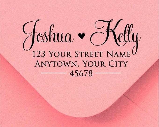 Address stamp self inking - Wedding Gift, Bridal Shower Gift, Realtor Gift, Housewarming Gift, Christmas gift R310