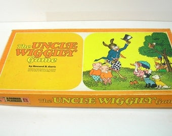 The Uncle Wiggly Game, Vintage Board Game