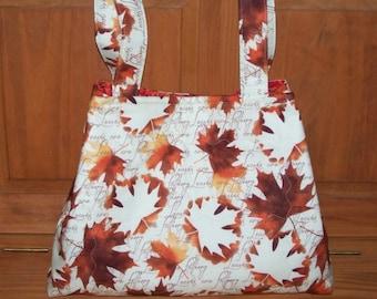 Autumn Fall Leaves Purse