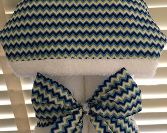 Boy Chevron Hooded Towel Toddler Towels brand