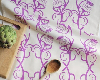 Kitchen Garden Collection Artichoke Tea Towel