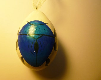 Blue Beetle Ornament