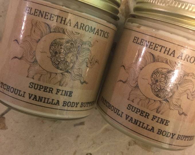 Super Fine Patchouli Vanilla Body Butter