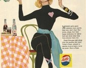 Vintage 1958 magazine ad advertisement - Pepsi  ----Expires May 21, 2016 and will not be renewed----