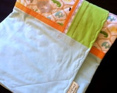 Animal Nursery Baby / Toddler Quilt and Security Blanket