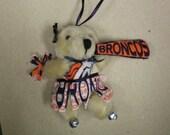 Bronco Cheerleader Bear
