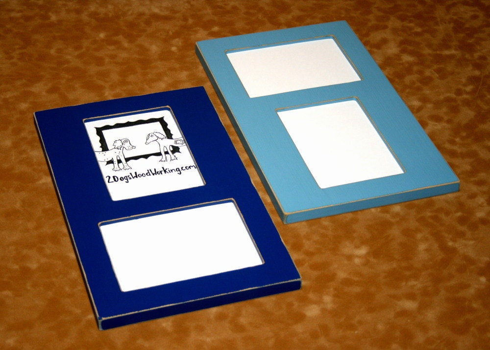 Snap Collage Picture Frame 2 8x10 Openings Vertical Horizontal