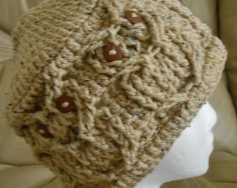 Buff Afleck Hoot Owl Hat