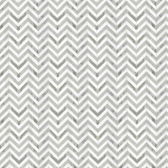 Modern Dollhouse Wallpaper Tile Effect Herringbone Marble