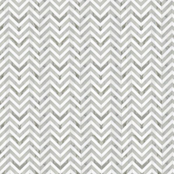Dollhouse Flooring Installation: Modern Dollhouse Wallpaper Tile Effect Herringbone Marble