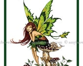 FAIRY PRINT 8.5x11 Thinking of You by Amy Brown