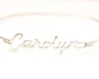 Vintage Name Bracelet - Carolyn