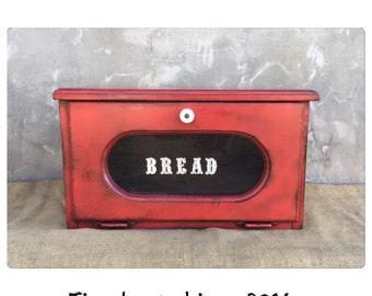 Breadbox - Bread Box - Wooden Bread Box - Wood Bread Box - Rustic Decor - Kitchen Decor - CHIC