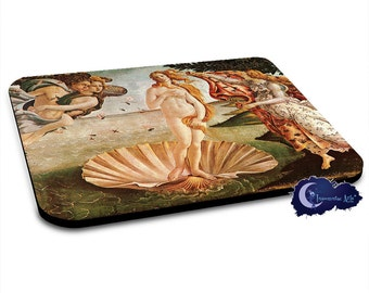 Birth of Venus by Botticelli Art Mousepad