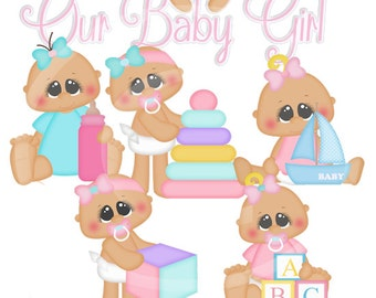 Baby Girl Svg Etsy