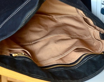 Ikabags  ZIPPER UPGRADE for handmade bag / Diaper bag / Messenger bag / Tote bag