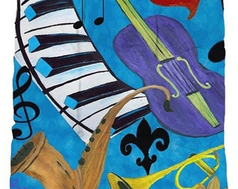 Jazz art tufted chair cushions from my art